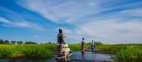 Exploring the Okavango Delta in a traditional mokoro | Graham MacGregor