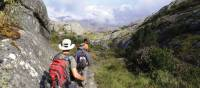 Rocky trail trekking though Andringitra, Madagascar   Gesine Cheung