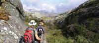 Rocky trail trekking though Andringitra, Madagascar | Gesine Cheung