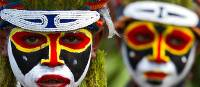 Traditional masks   PNG Tourism