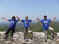 Sunshine and smiles upon the amazing Great Wall |  <i>Victoria Earl</i>