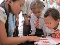 A school supported by the International Child Resource Institute |  <i>ICRI</i>