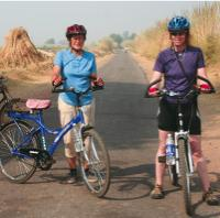 Cycling on our North India Adventure -  Photo: Nicola Croom