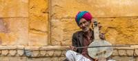 Musician at Jaisalmer Fort | Richard I'Anson