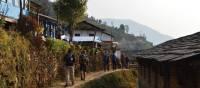 Trek through small villages in the Annapurna region | Erin Williams
