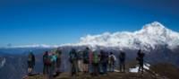 Spectacular views of Dhaulagiri from Kopra Ridge | Mark Tipple