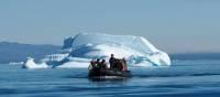 Zodiac cruising in Ilulissat | Rachel Imber