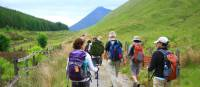 Trail out of Tyndrum