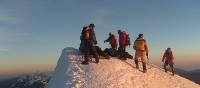 Reaching the summit of Huayna Potosi   Juan Villarroel