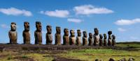 Easter Island is home to the iconic Moai stone heads | Heike Krumm