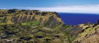 Experience breathtaking views when you climb Rano Kau on Easter Island | Heike Krumm
