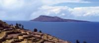 Stunning shot across Lake Titicaca   Pam Drummond