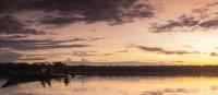 Peru's Lake Sandoval at sunset | Mark Tipple